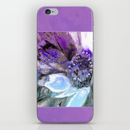 In Sunlight, Lilac and Blue iPhone Skin