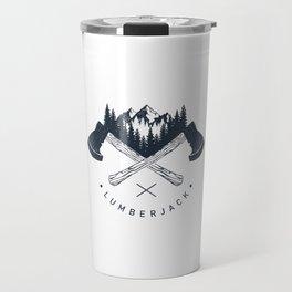 Lumberjack Travel Mug