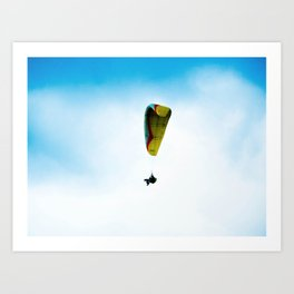 In the winds, and with all, I will be. Art Print