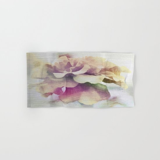 Moonlit Floral Abstract Hand & Bath Towel