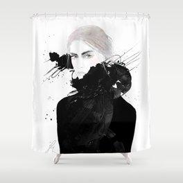 FASHION ILLUSTRATION 7 Shower Curtain