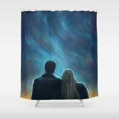 The Morning Star Shower Curtain