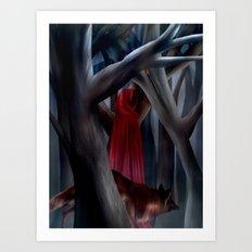 The Cloak of Rydynnton Art Print