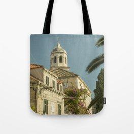Cavtat Church Tote Bag