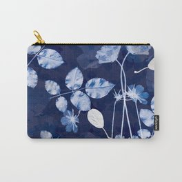 Flora Cyanotype Carry-All Pouch
