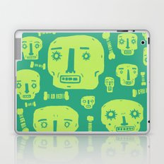Skulls & Bones I - Green Laptop & iPad Skin