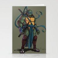 leonardo Stationery Cards featuring Leonardo by Teratophile