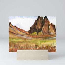 Shiprock New Mexico Mini Art Print