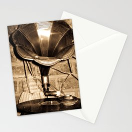 PHONOGRAPH 2  Stationery Cards
