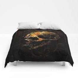 SKULL GRUNGE Comforters