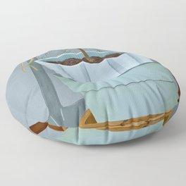 Stacked pots Floor Pillow
