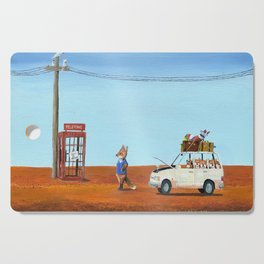 The Out of Service Phone Box Cutting Board