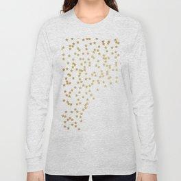 Gold stars Long Sleeve T-shirt
