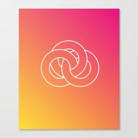 geometry Canvas Prints featuring Geometry by Geometry