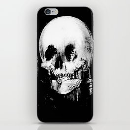 All Is Vanity: Halloween Life, Death, and Existence iPhone Skin