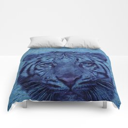 Tiger and Water Comforters