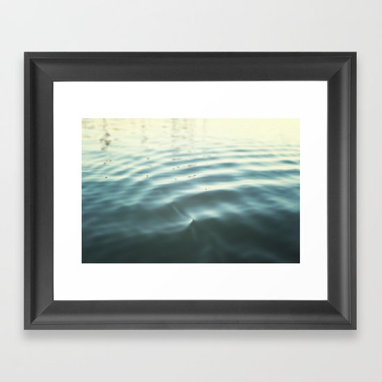 Water Ripple Framed Art Print