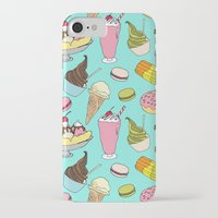 dessert iPhone & iPod Cases featuring Dessert Explosion! by TinyBee