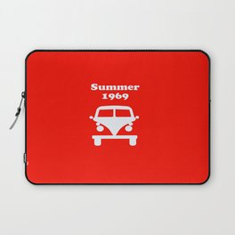 Summer 1969 - red Laptop Sleeve