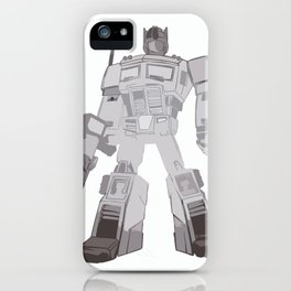 Optimus Black and White iPhone Case
