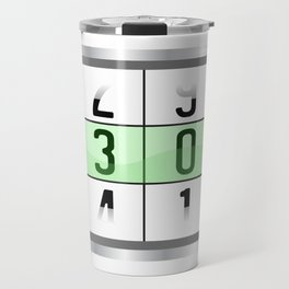 """A Nice Birthday Tee """"Oldometer 30"""" For Anyone Who's Birthday Is Happening Soon Happy Natal Day Travel Mug"""