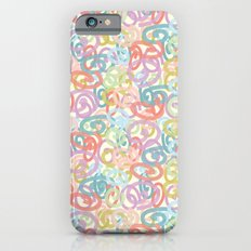 Colored pattern iPhone 6s Slim Case