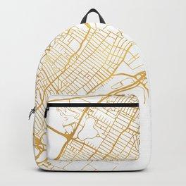 JERSEY CITY NEW JERSEY STREET MAP ART Backpack