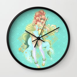 Earth Dog 2018 Wall Clock