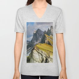 Mountains Unisex V-Neck