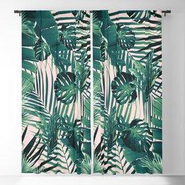 Tropical Jungle Leaves Siesta #2 #tropical #decor #art #society6 Blackout Curtain