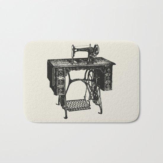 Singer sewing machine Bath Mat