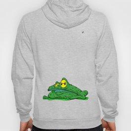 Frog in a bog Hoody