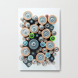 Energize Metal Print