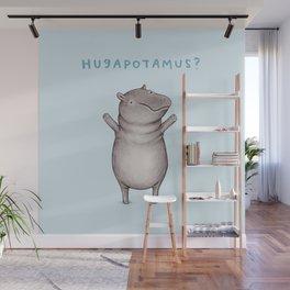 Hugapotamus? Wall Mural
