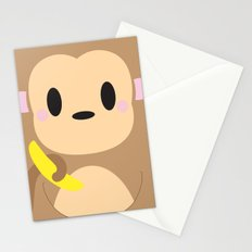 Monkey Block Stationery Cards