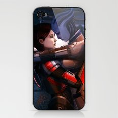 Mass Effect - Safe in your arms iPhone & iPod Skin