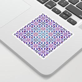 Beautiful oriental flower pattern 9 Sticker