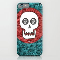 Skull Poppy iPhone 6s Slim Case