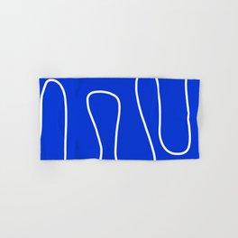 Blue Abstract Wave Hand & Bath Towel