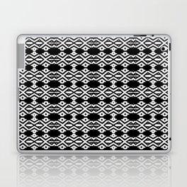 Arrows and Diamond Black and White Pattern 2 Laptop & iPad Skin