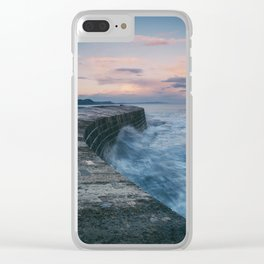 Sunset Over the Cobb II Clear iPhone Case