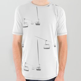 Lifts from and to nowhere All Over Graphic Tee