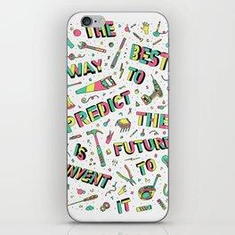 Predict The Future iPhone Skin