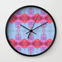drums Wall Clocks featuring Drums and Parasols by SHI Designs