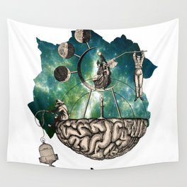 Subjective Reality Wall Tapestry