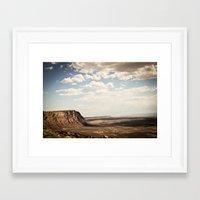 utah Framed Art Prints featuring utah by Aaron Mallory
