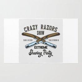 Crazy Razor Show Rug