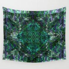 Blue-n-Black Wall Tapestry