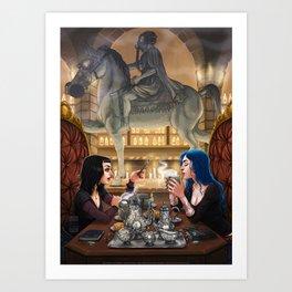 Poison Kitchen Art Print