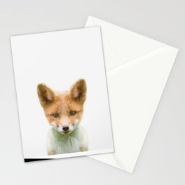 Baby Fox Stationery Cards